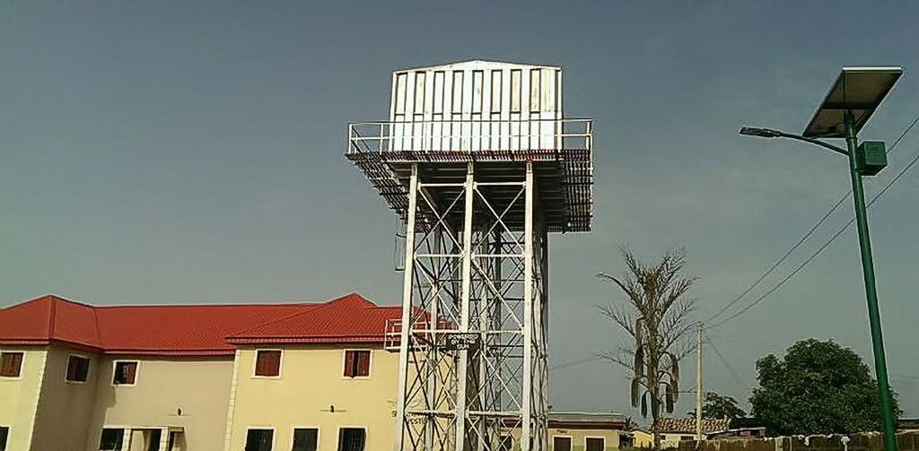 Imperial School Water tank