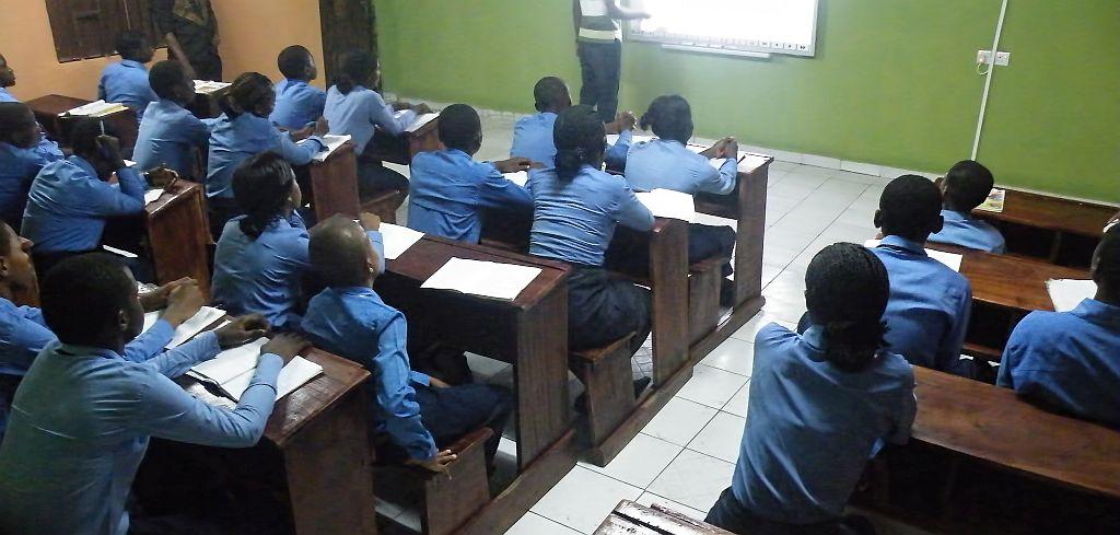 Imperial Students recieving classes